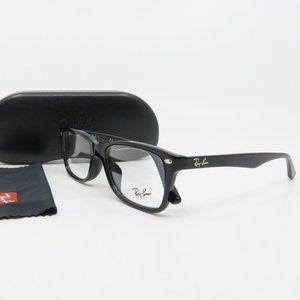 RB 5228F 2000 Ray-Ban Black Rectangular Glasses 53